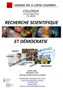 Affiche colloque 2014